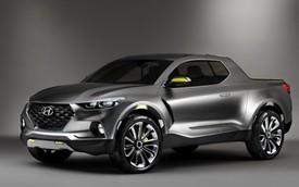 Hyundai Santa Cruz - Xe bán tải lai crossover cho giới trẻ