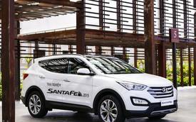 Hyundai SantaFe bản 5 chỗ ra mắt với giá từ 999 triệu đồng