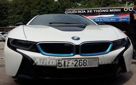 Siêu phẩm BMW i8 thứ năm đã về Việt Nam, lập tức ra biển