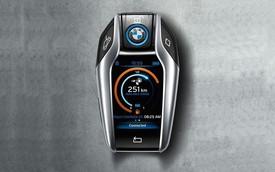 Chìa khóa của BMW i8 có thiết kế cực đẹp và hiện đại