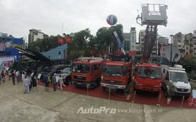 Ngắm nhìn dàn xe đặc chủng của Việt Nam lần đầu tiên đưa ra triển lãm
