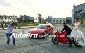 Chụp ảnh cưới cùng xế độc Mazda RX-8 và Ducati 899 Panigale