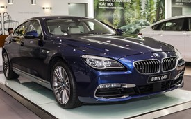 BMW Series 6 Gran Coupé đã sẵn sàng cho VIMS 2015 tại Hà Nội