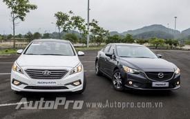 1 tỉ đồng nên chọn Mazda6 hay Hyundai Sonata 2015