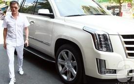 """Đàm Vĩnh Hưng """"khoe"""" xế khủng Cadillac Escalade bản cao cấp"""