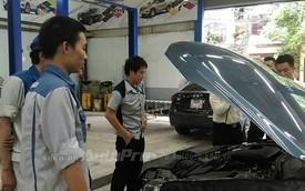 Kỹ sư Nhật Bản của Mazda sang Việt Nam kiểm tra lỗi hiện đèn check engine