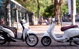 Xe nữ đi, chọn Vespa Primavera hay Honda SH mode?