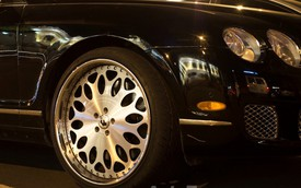 Xe siêu sang Bentley biển tứ quý 9 sở hữu Lazang khủng Forgiato