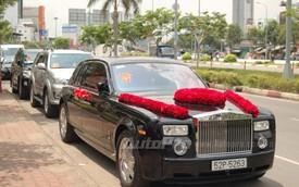Rolls-Royce Phantom làm xe hoa tại Sài Thành