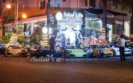 """""""Dạ tiệc"""" siêu xe mừng sinh nhật tại Sài Thành"""