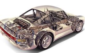 Những bản vẽ đáng kinh ngạc của siêu xe những năm 80