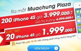 Làm thế nào mua iPhone chính hãng rẻ một nửa giá thị trường?