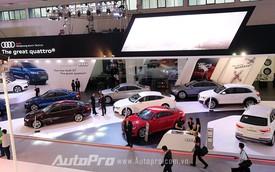 Audi phô diễn sức mạnh tại triển lãm Ôtô Quốc tế Việt Nam 2015