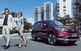 Xe SUV 5 chỗ bán chạy Honda CR-V thêm màu đỏ mới