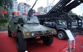 Cận cảnh xe chống đạn RAM-MKIII của lực lượng an ninh Việt Nam