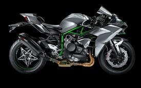 Kawasaki Ninja H2 hấp dẫn và mạnh hơn nhờ ống xả Akrapovic