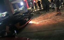 """Lamborghini Aventador thi nhau """"khạc lửa"""" trong hành trình siêu xe của người Việt"""