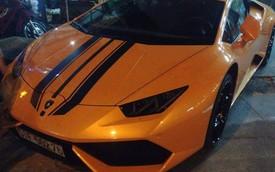 Bắt gặp Lamborghini Huracan hàng độc dạo phố đêm Sài thành