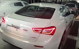 Maserati Ghibli chính hãng đầu tiên tại Việt Nam lộ diện