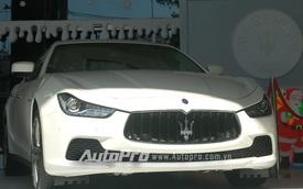 Maserati Ghibli chính hãng có giá 5,455 tỷ Đồng tại Việt Nam