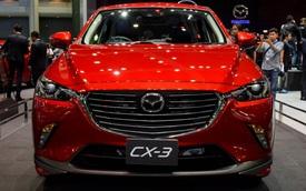 """Xe """"hot"""" Mazda CX-3 """"bằng xương, bằng thịt"""" tại Thái Lan"""