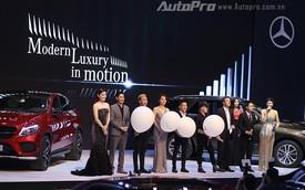 """Mercedes-Benz """"làm mưa gió"""" VMS 2015 với dàn sao Việt"""