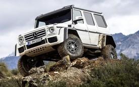 Mercedes-Benz G500 4x4² có giá còn đắt hơn cả G63 AMG