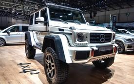 Mercedes-Benz G500 4×4²: Nặng 3 tấn nhưng không hề chậm