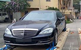 """""""Ảnh sống"""" 2 chiếc Mercedes-Benz S600 Pullman Guard của Bộ Ngoại Giao"""