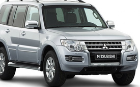 Mitsubishi Pajero tương lai bấp bênh do nặng nề và tốn xăng