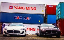 Nghi vấn cặp đôi Maserati chính hãng đầu tiên cập bến tại Việt Nam