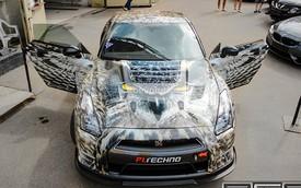 Nissan GT-R khoác lớp áo cú mèo độc đáo
