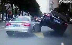 Nissan Teana trèo lên đầu xe sang Audi A4L