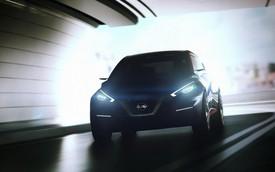 Nissan hé lộ hình ảnh mẫu hatchback mới