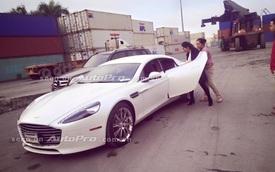 """""""Nữ hoàng"""" Aston Martin Rapide S đầu tiên về Việt Nam"""