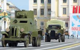 Ô-tô bọc thép Liên Xô: Sức mạnh xe tăng trên bánh lốp
