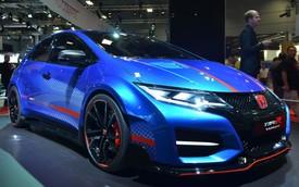 Honda Civic Type R mạnh mẽ và hầm hố như concept