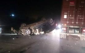 Lái BMW gây tai nạn rồi bỏ chạy, tông vào xe cảnh sát
