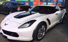 """""""Quỷ dữ"""" Chevrolet Corvette Z06 2015 đầu tiên cập bến Việt Nam"""