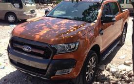 Lộ ảnh Ford Ranger Wildtrak 2015 lần đầu xuất hiện ở Hà Nội