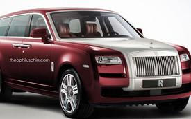 Chiêm ngưỡng diện mạo dự kiến của Rolls-Royce SUV