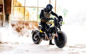 Lạ mắt bản độ Ducati Scrambler có tên SC-Rumble