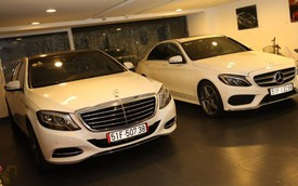 "Giữa tâm bão scandal tình cảm, Cường Đô-la ""khoe"" mới sắm xe sang Mercedes-Benz S500L 2015"