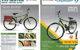 """""""Soi"""" xe đạp dành cho cảnh sát trật tự tại Việt nam"""