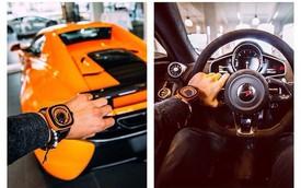 Ngắm nhìn đại gia thể hiện đẳng cấp qua đồng hồ và siêu xe