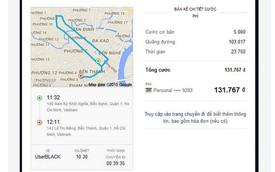 Tài xế Uber Việt đi đường vòng, phí tăng gấp 4 lần, xử trí thế nào?