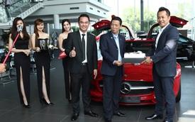 Đại gia Bình Định tậu siêu xe Mercedes-Benz SLS AMG chính hãng