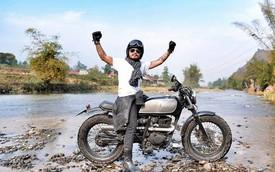 """Blogger Cu Trí nhắn nhủ """"biker"""" Trần Lập chóng khỏe để trở về với những chuyến đi"""