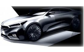 Kia K7 thế hệ mới lần đầu tiên lộ diện