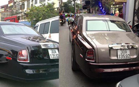 Rolls-Royce Phantom rồng bị Mazda3 đâm tái xuất với màu sơn mới